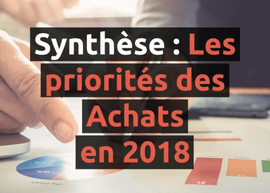 La réduction des coûts : priorité Achats n°1 en 2018